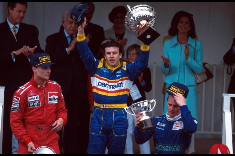 David Coulthard Olivier Panis Red Bull Aston Martin Red Bull Racing F1 ~David Coulthard und Olivier Panis ~