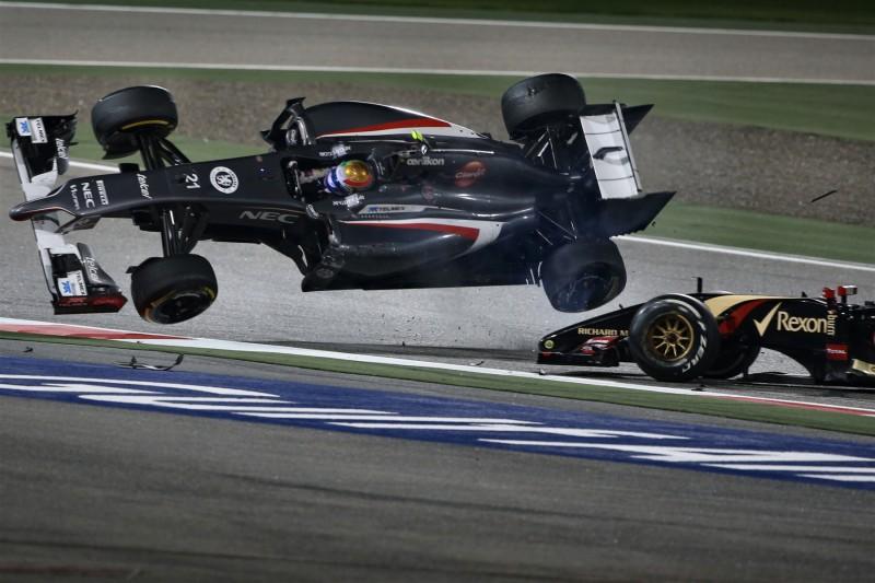 Esteban Gutierrez Pastor Maldonado Alfa Romeo Alfa Romeo F1Lotus Lotus F1 Team F1 ~Esteban Gutierrez und Pastor Maldonado ~