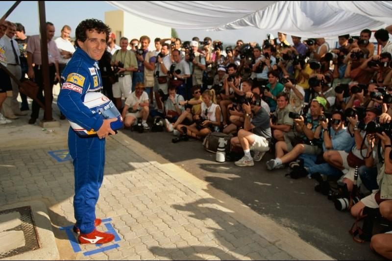 Alain Prost Williams Williams Martini Racing F1 ~Alain Prost ~
