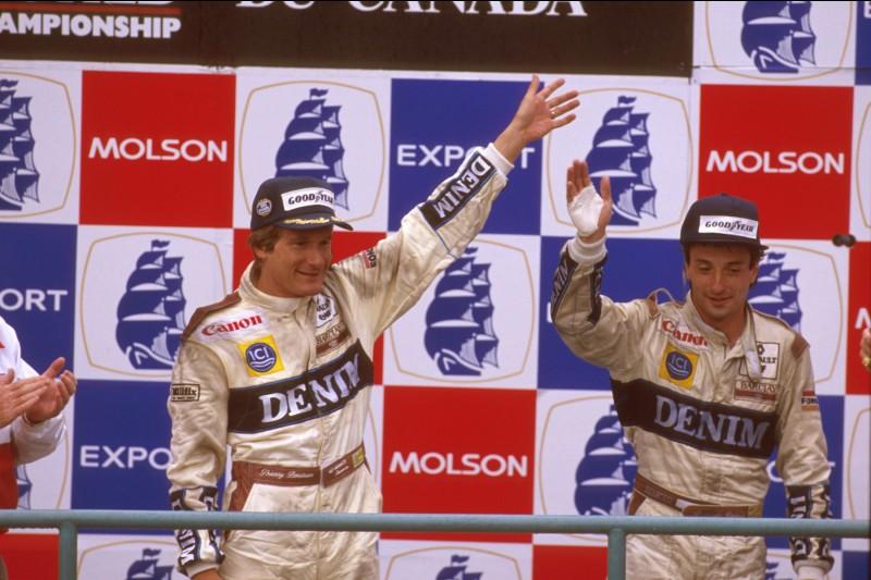 Riccardo Patrese Williams Williams Martini Racing F1 ~Riccardo Patrese ~