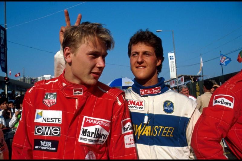 Michael Schumacher Mika Häkkinen ~Michael Schumacher und Mika Häkkinen ~