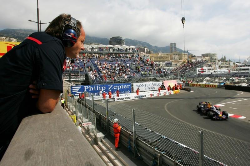 Gerhard Berger Mark Webber Toro Rosso Red Bull Toro Rosso Honda F1Red Bull Red Bull F1 ~Gerhard Berger und Mark Webber ~