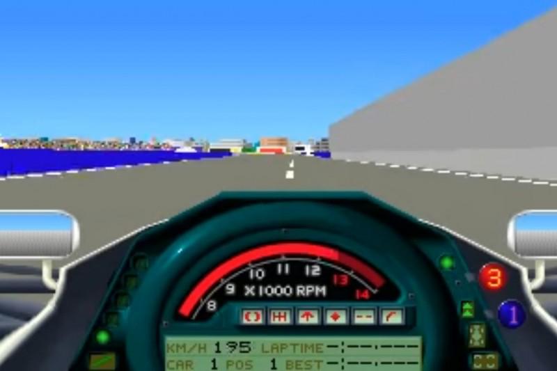 Grand Prix 1 von Microprose (Entwickler: Geoff Crammond)