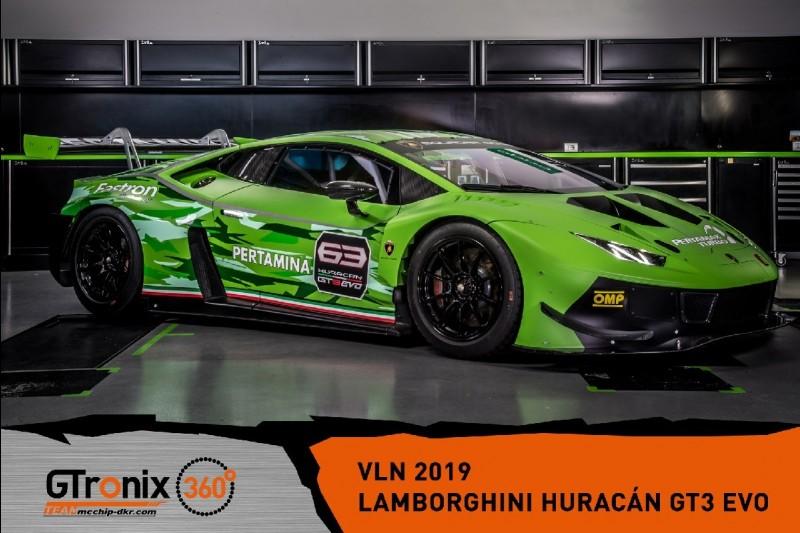 mcchip-dkr, Lamborghini Huracan GT3 Evo, Präsentation