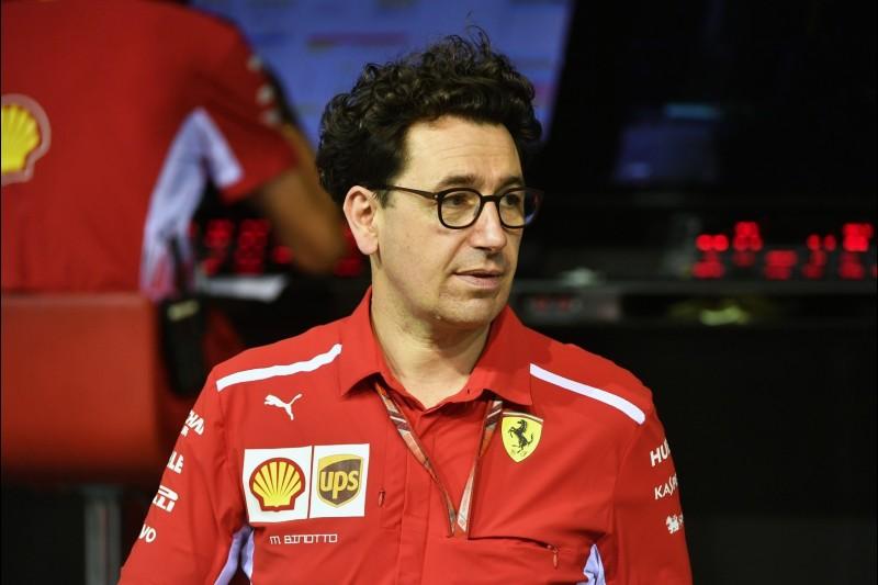 Mattia Binotto, Ferrari-Teamchef