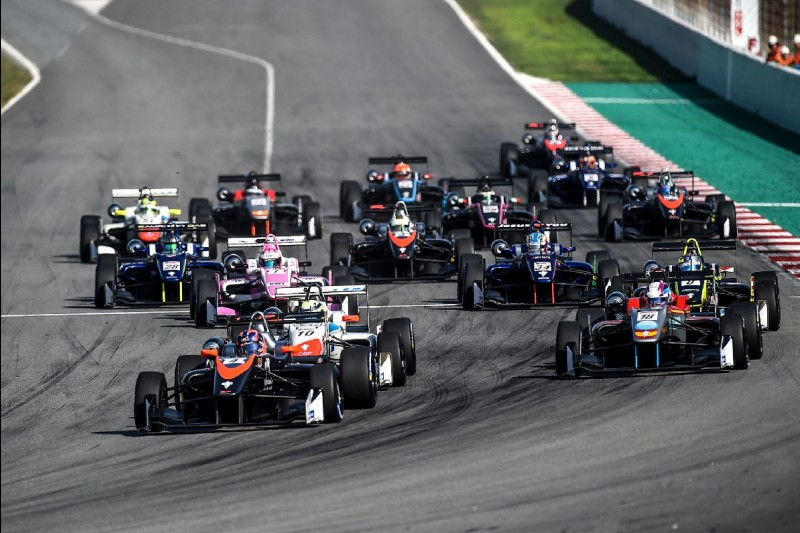 Euroformula Open in Barcelona 2018