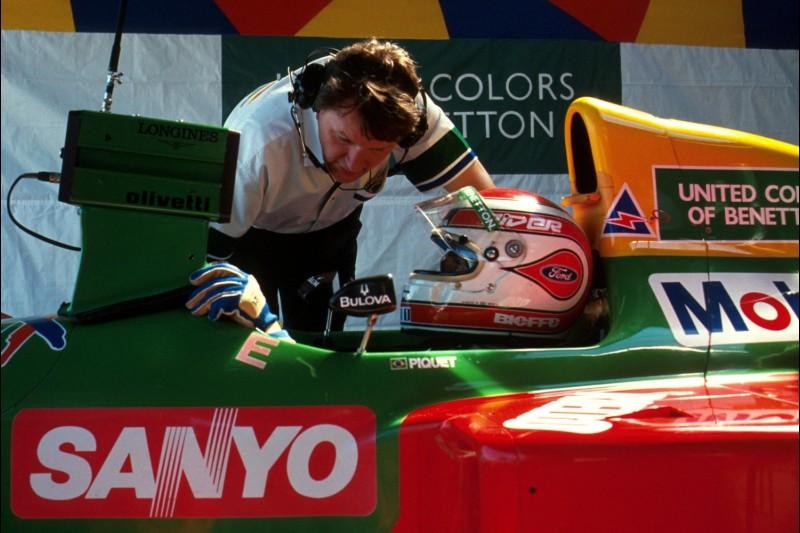 John Barnard und Nelson Piquet
