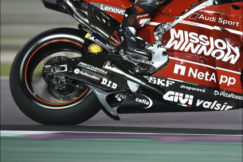 Winglet am Hinterrad: Ducati Desmosedici GP19