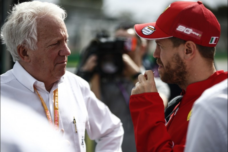 Charlie Whiting, Sebastian Vettel