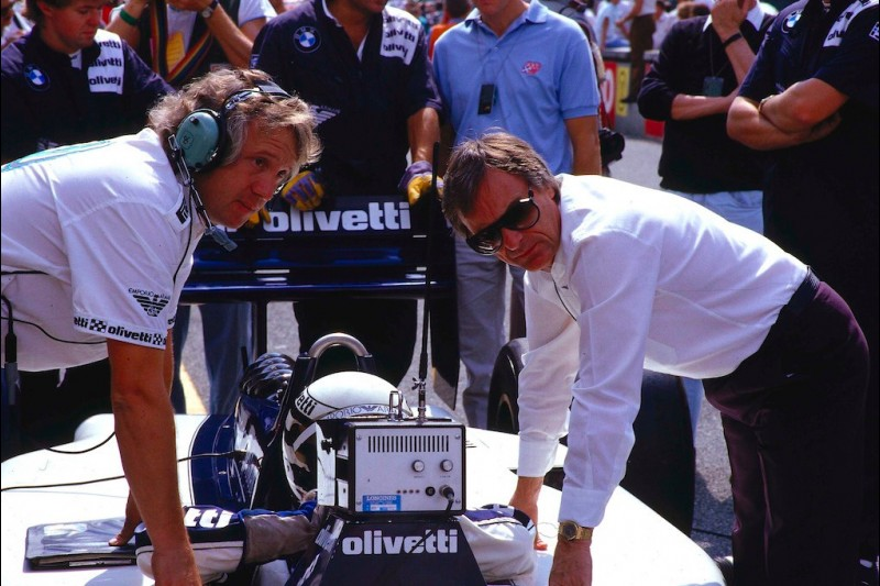 Bernie Ecclestone, Charlie Whiting, Riccardo Patrese