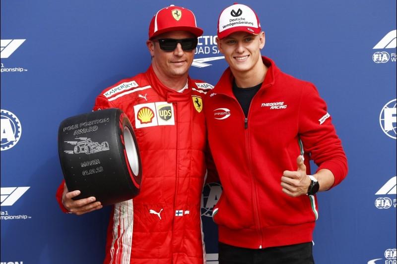 Kimi Räikkönen, Mick Schumacher