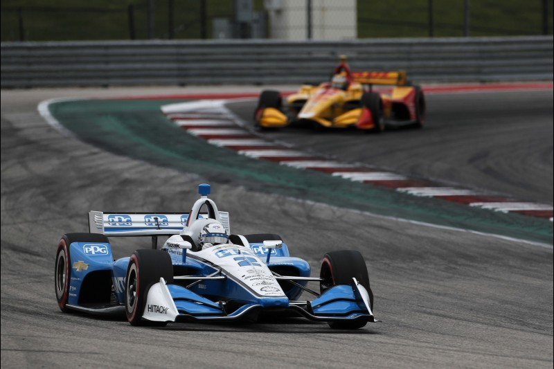 Josef Newgarden, Ryan Hunter-Reay