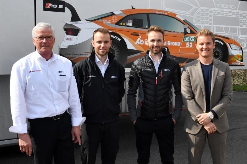 Arno Zensen, Jamie Green, Rene Rast, Nico Rosberg