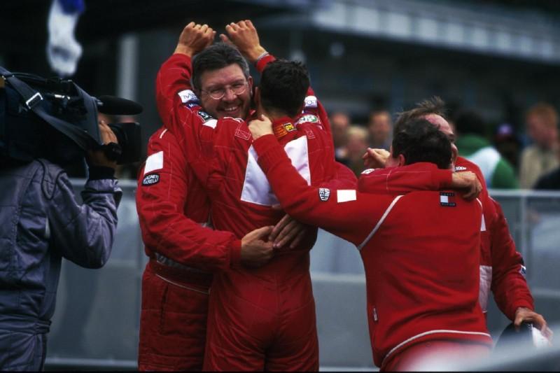 Ross Brawn, Michael Schumacher