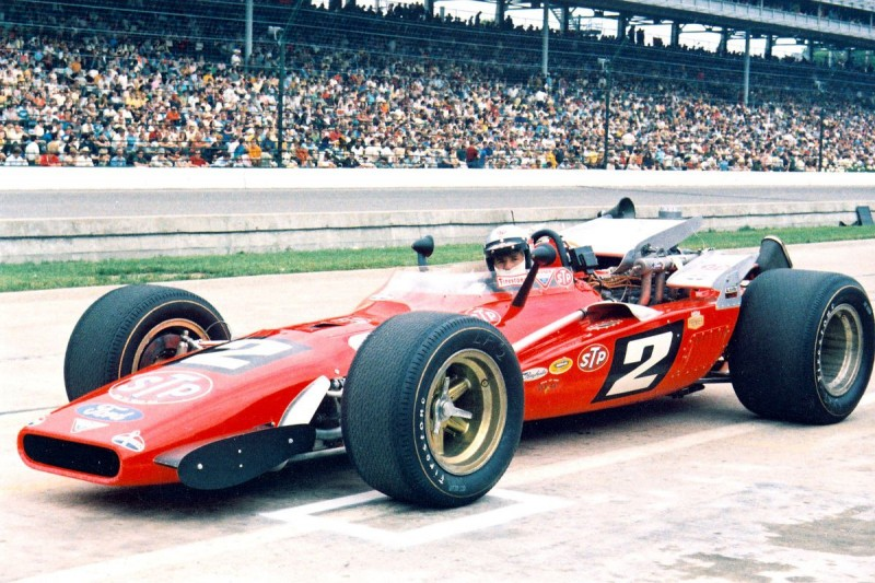 Indy-500-Sieger 1969: Mario Andretti,