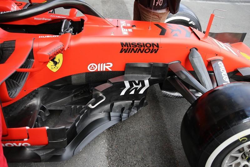 Bargeboard, Ferrari