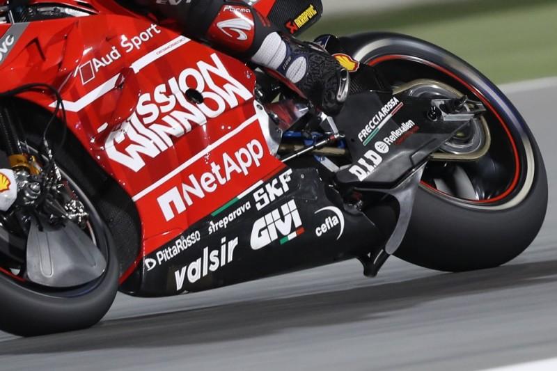 Ducati Aerodynamik Reifen