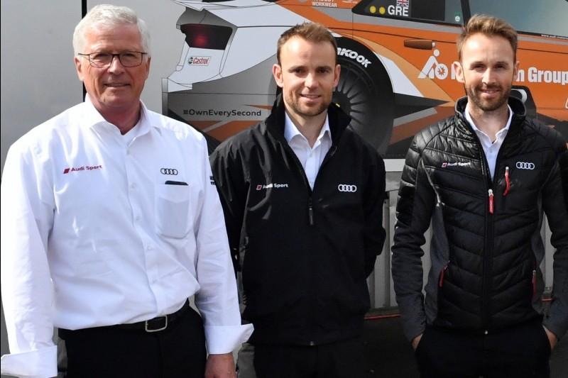 Arno Zensen, Jamie Green, Nico Rosberg