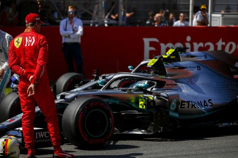 Sebastian Vettel, Valtteri Bottas, Spionage