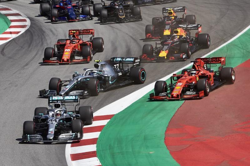 Lewis Hamilton, Valtteri Bottas, Sebastian Vettel, Max Verstappen, Charles Leclerc