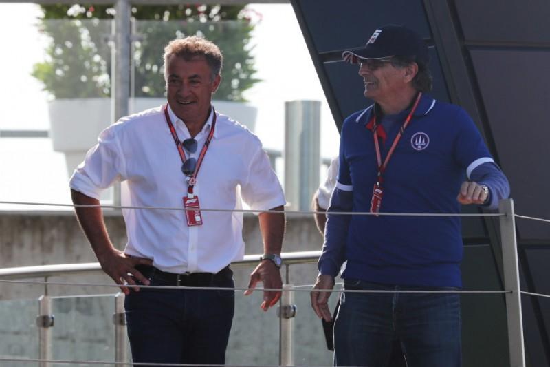 Jean Alesi, Pedro Piquet