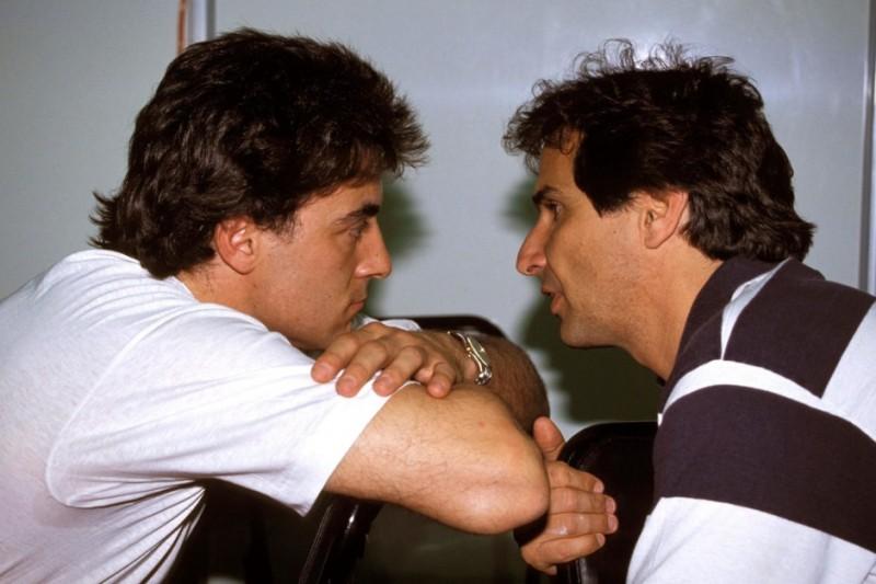 Jean Alesi, Nelson Piquet