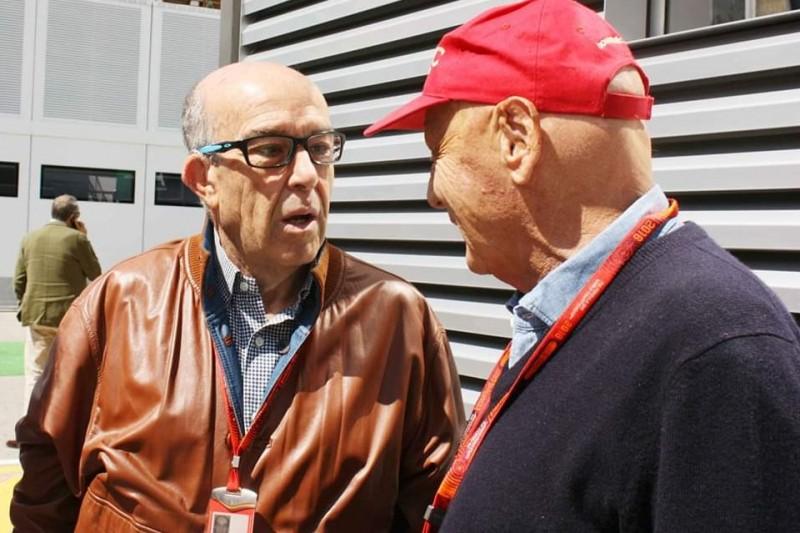 Carmelo Ezpeleta, Niki Lauda