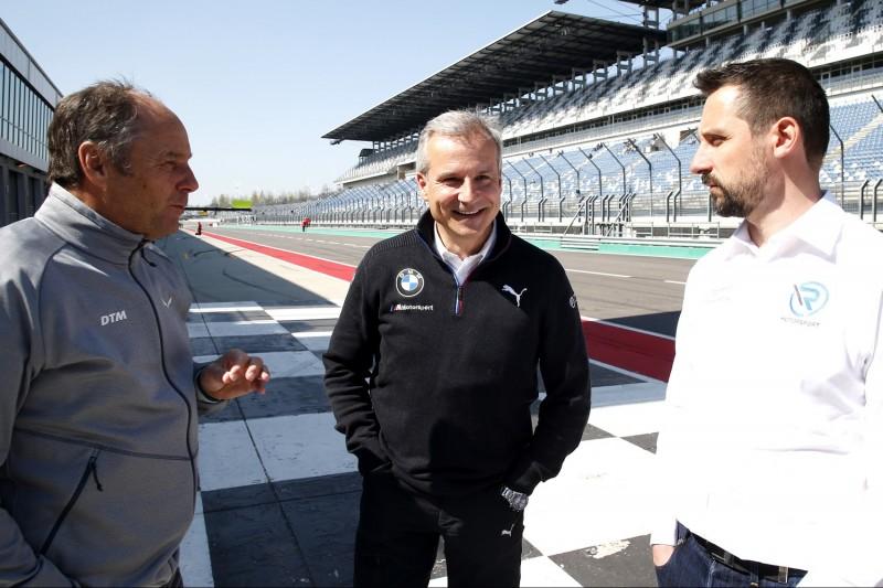 Gerhard Berger, Jens Marquardt, Florian Kamelger