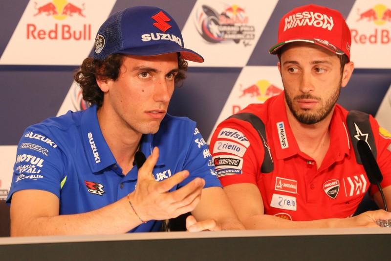 Alex Rins, Andrea Dovizioso