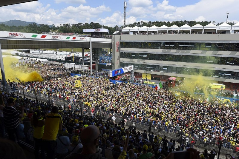 Fans von Valentino Rossi in Mugello