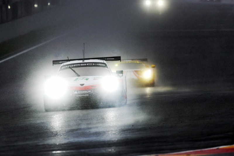 Porsche in Spa-Francorchamps