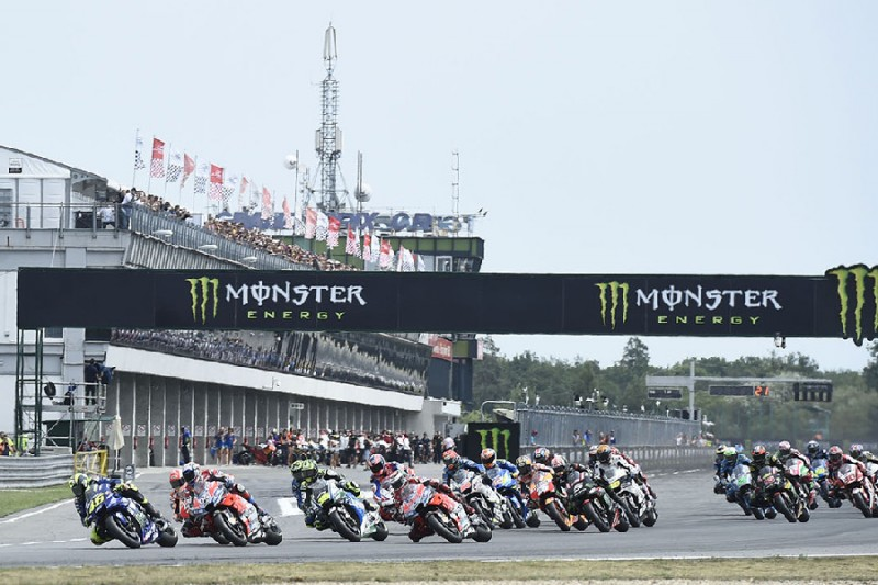 Brünn MotoGP Start