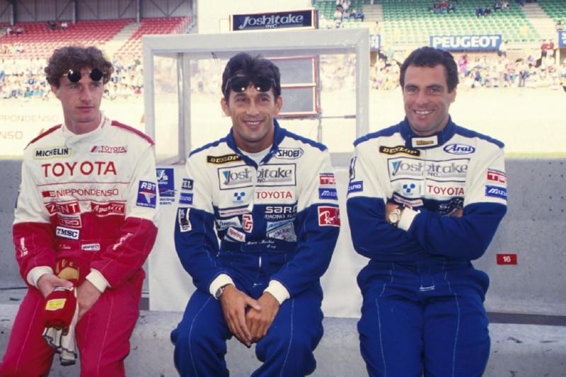 Eddie Irvine, Mauro Martini, Roland Ratzenberger
