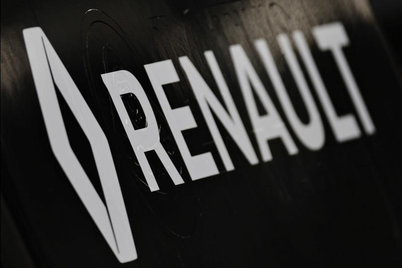 Logo und Schriftzug: Renault