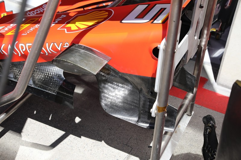 Ferrari SF90, Technik, Turning Vanes