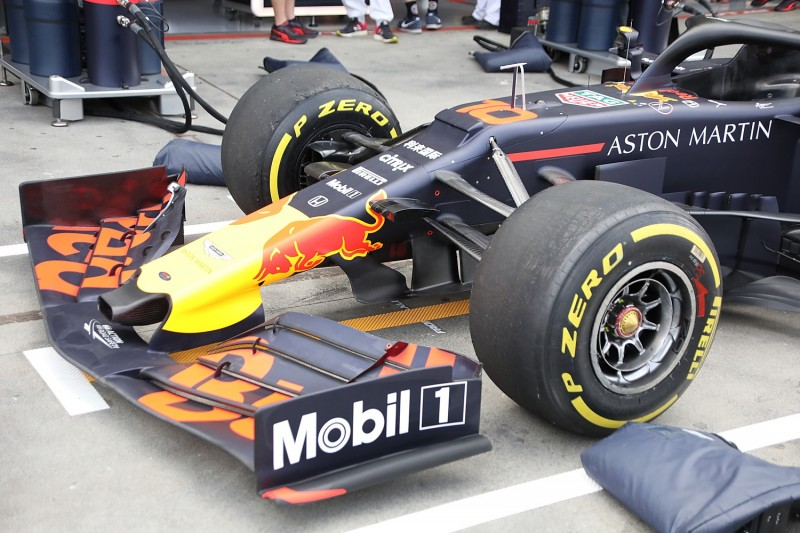 Red Bull RB15, Nase, Frontflügel, Technik