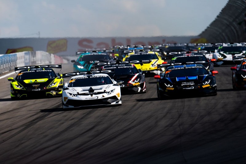 Start der Lamborghini Super Trofeo North America in Watkins Glen
