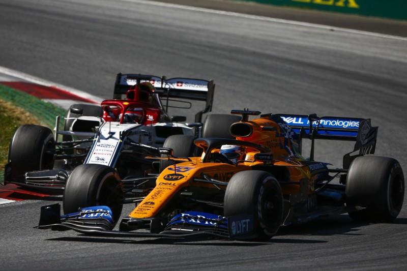 Carlos Sainz, Kimi Räikkönen