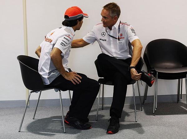Sergio Perez, Martin Whitmarsh