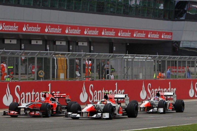 Jerome D'Ambrosio, Vitantonio Liuzzi, Daniel Ricciardo