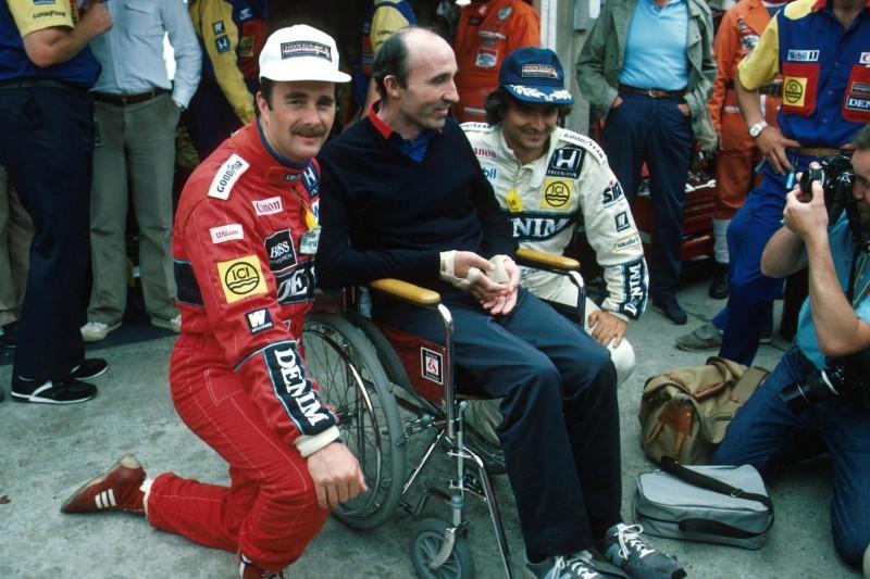 Nigel Mansell, Frank Williams