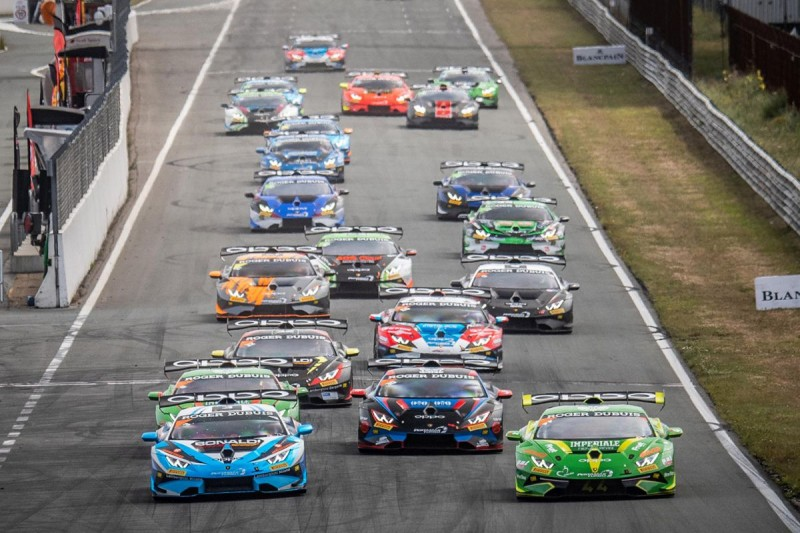 Start der Lamborghini Super Trofeo Europe 2019 in Zandvoort
