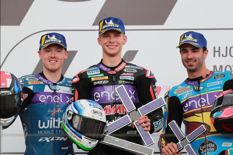 Niki Tuuli, Bradley Smith, Mike di Meglio