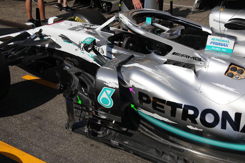Mercedes F1 W10 EQ Power+: Update für Hockenheim