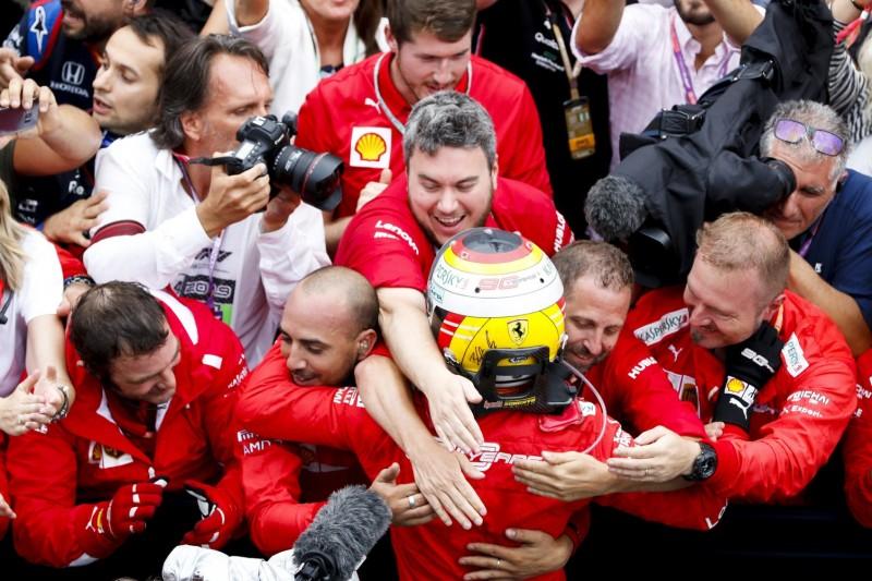 Sebastian Vettel, Ferrari-Mechaniker