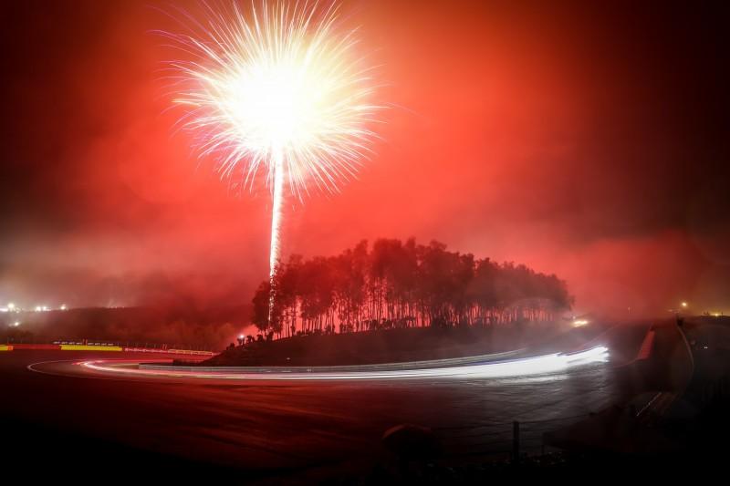 24h Spa, Feuerwerk
