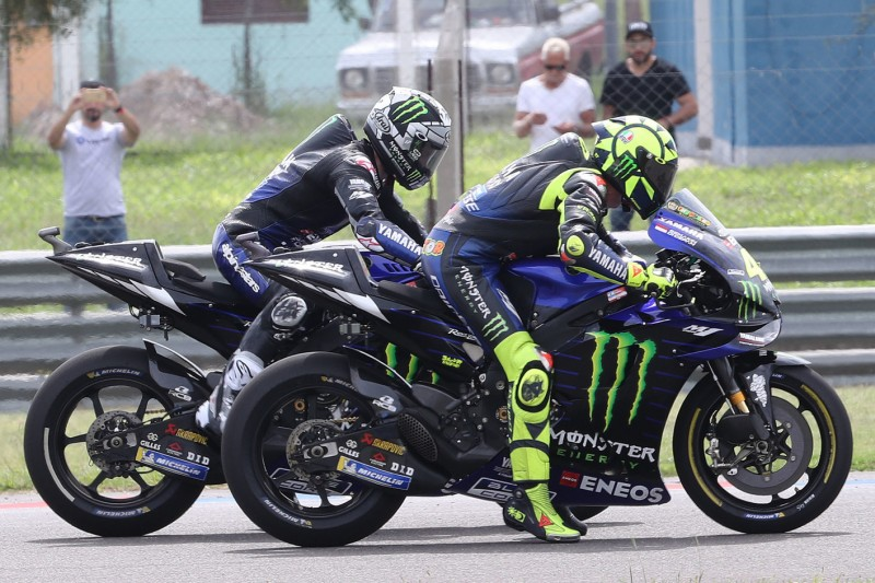 Maverick Vinales, Valentino Rossi