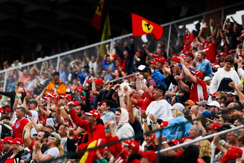 Fans von Sebastian Vettel