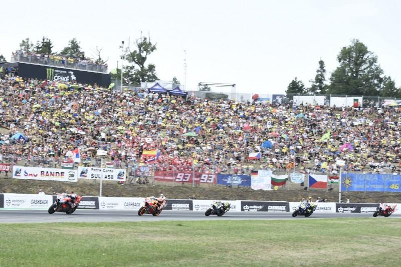 MotoGP Fans in Brünn