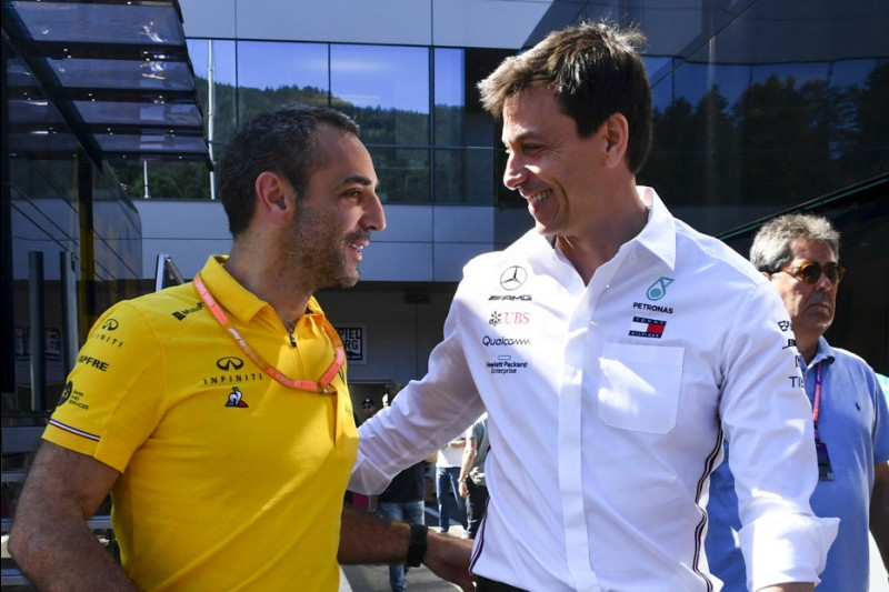 Cyril Abiteboul, Toto Wolff